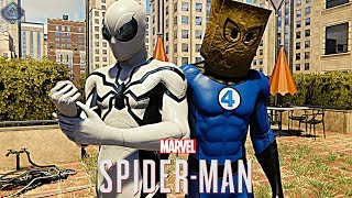 Spider-Man PS4 - FUTURE FOUNDATION AND BOMBASTIC BAG-MAN SUITS FREE ROAM GAMEPLAY!