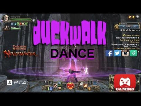 Control Wizard DUCK DANCE, NeverWinter PS4