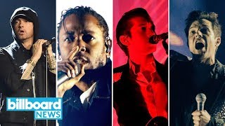 Firefly Festival: Eminem, Kendrick Lamar, Arctic Monkeys & The Killers to Headline | Billboard News