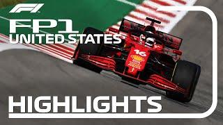 FP1 Highlights   2021 United States Grand Prix