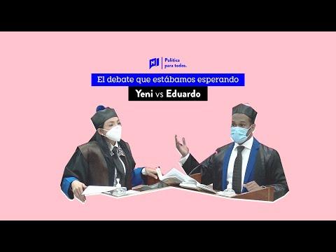Antipulpo: El debate entre Yeni Berenice y Eduardo Nuñez