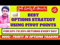 Options Strategy | Best Intraday Stock Options Strategy | 10 To 15% Profitable Strategy Only Buy|