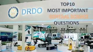 DRDO Ceptam General Science Top 10 Most important Questions