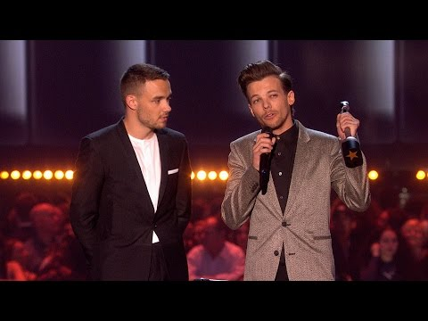 'Drag Me Down' by One Direction wins British Artist Video of the Year | The BRIT Awards 2016