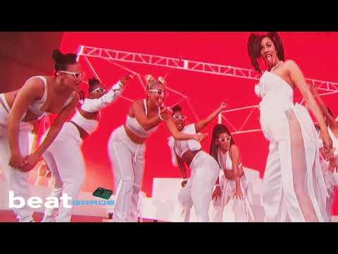 Cardi B Coachella Full Performance - Brings out G-Eazy, YG, Chance, 21 Savage, and Pregnant Twerk