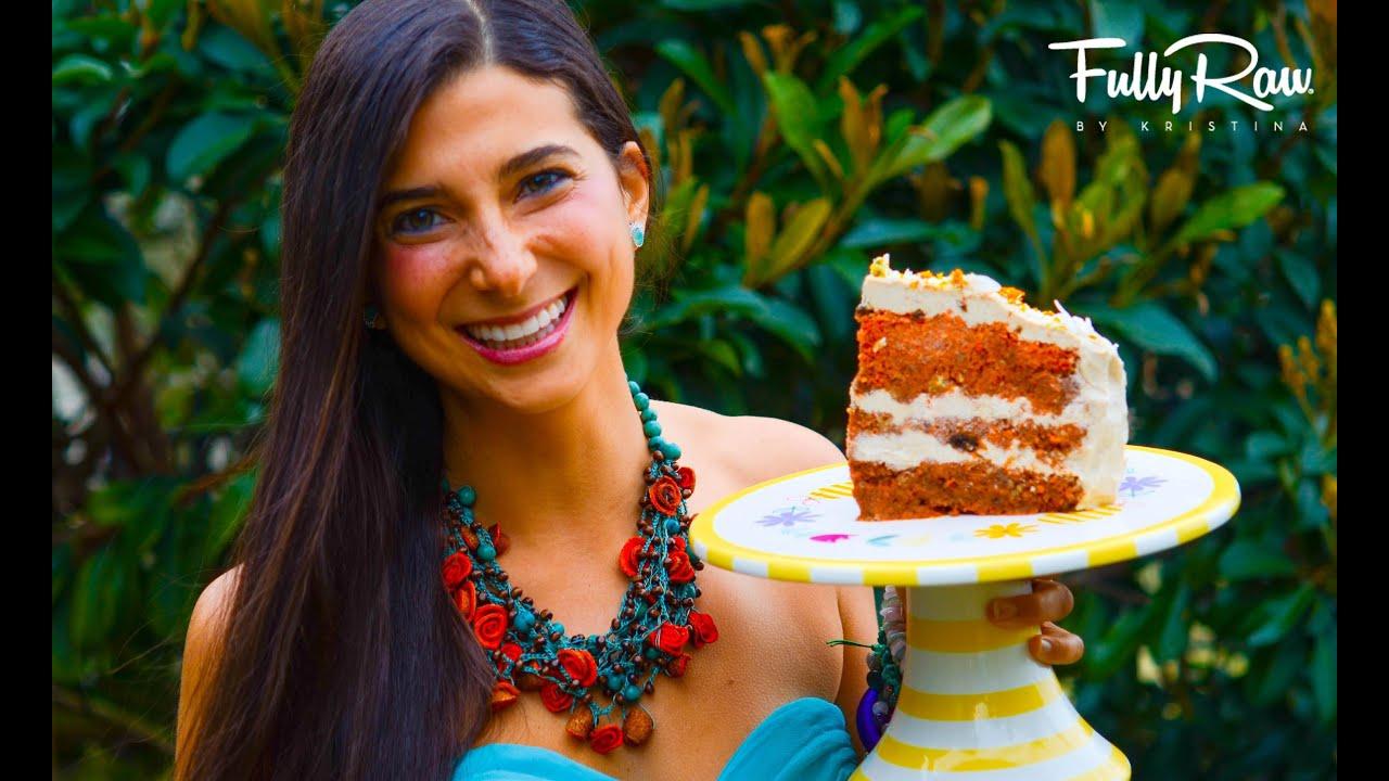 Fullyraw Carrot Cake