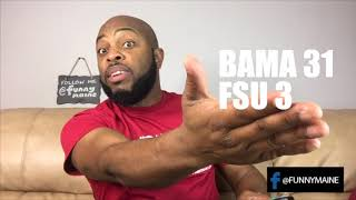 How Bama Fans Watched Week Two Games (2017)
