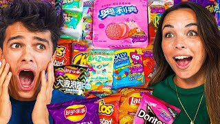 We Tried EXOTIC SNACKS For The FIRST TIME!