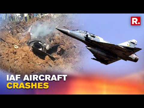 Watch: Moments before Mirage aircraft crash, IAF pilot ejects safely in MP