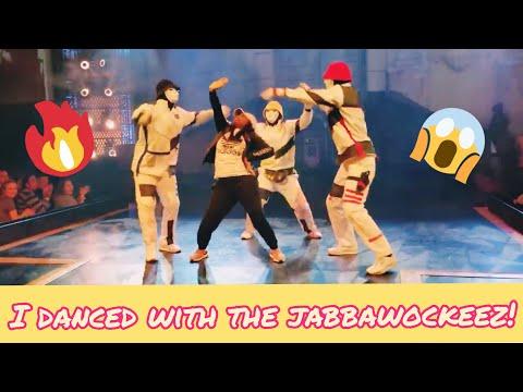 I DANCED WITH THE JABBAWOCKEEZ!!!!!