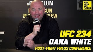 UFC 234: Dana White Post-Fight Press Conference