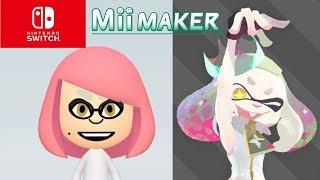 Mii Maker How To Create Marina From Splatoon 2 (Switch