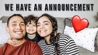 WE HAVE AN ANNOUNCEMENT!!