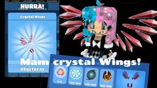 Mam crystal Wings! OwO blockstarplanet#1
