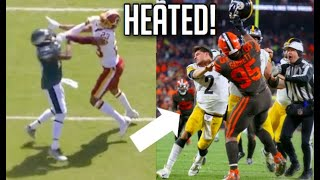 NFL Most Heated Moments of The 2019-2020 Season || HD