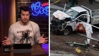 MEDIA HYPOCRISY: Islamic Terrorism Vs Gun Violence | Louder With Crowder