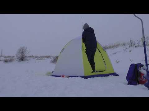 Кайфую в Палатке для рыбалки Стэк 2 Элит