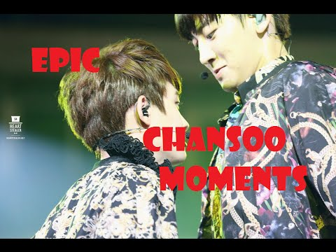 EXO EPIC CHANSOO Moments CHANYEOL touches DO KYUNGSOO BUTT