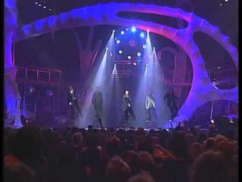 Backstreet Boys - As long as you love me & Everybody (Live @ MTV EMA 1997)