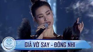 Sân khấu BÙNG NỔ với hit 'Giả Vờ Say' của Đông Nhi trong đêm Chung Kết Miss World Việt Nam 2019