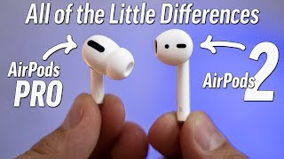 AirPods Pro vs AirPods 2 - Very Detailed Full Comparison!