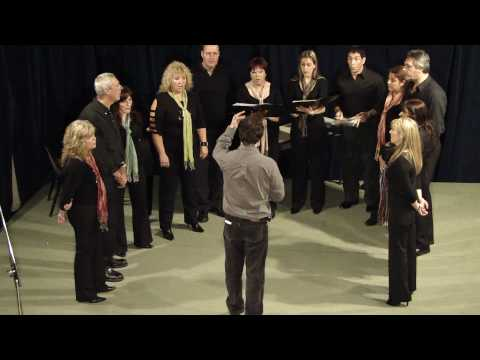 Ensayo Coral de Avellaneda - La cuna de tu hijo - concierto Alte Brown 24 10