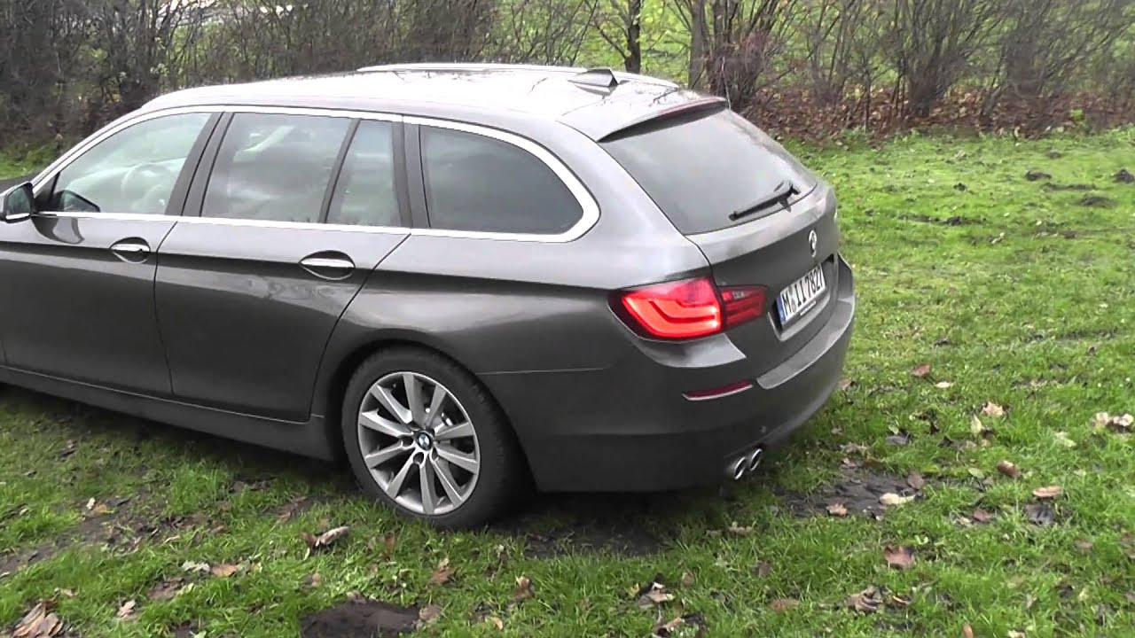 aussenansicht bmw 5er touring f11 youtube. Black Bedroom Furniture Sets. Home Design Ideas