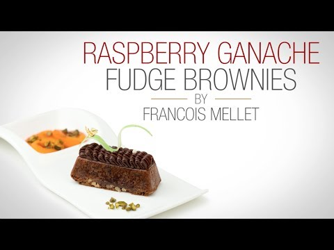 Raspberry Ganache Fudge Brownie - Qzina