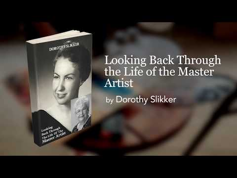 Looking Back Through the Life of the Master Artist Book Trailer