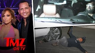 Jennifer Lopez's Driver Runs Over Paparazzi   TMZ TV