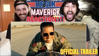 TOP GUN: MAVERICK | Comic-Con TRAILER - REACTION!!!