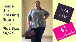 Inside the Dressing Room at Target and Charming Charlie | Plus Size 3X/4X