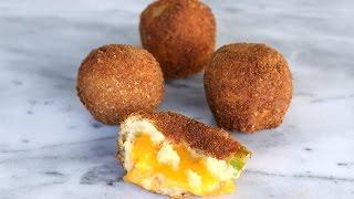 Cheese Stuffed Potato Balls - Episode 212