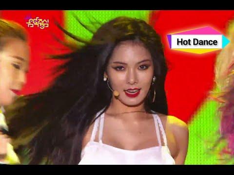 HyunA - RED, 현아 - 빨개요, Music Core 20140816