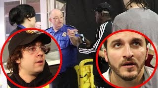 VLOG SQUAD UNDER LOCKDOWN AT THE AIRPORT!!