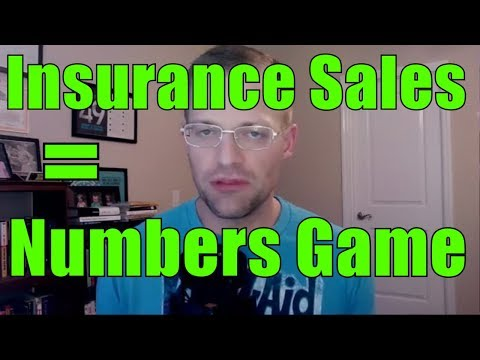 Is Selling Insurance REALLY A Numbers Game?