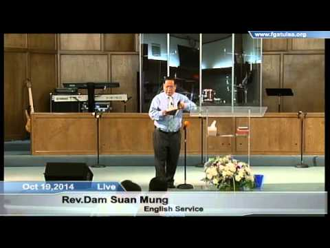 [FGATulsa]#1070#Oct 19,2014 English Service (Pastor Mung Taw