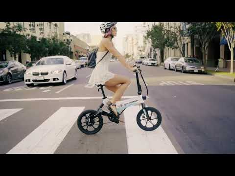 video Swagtron EB7 Electric Bike
