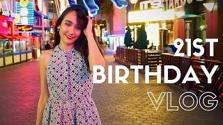 I TURNED 21!! Birthday VLOG!