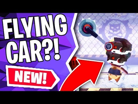 CATS: MAKING A FLYING CAR!?! | Crash Arena Turbo Stars