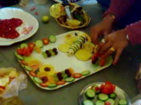 "SAPTADHARA: ""FRUIT SALAD DECORATION COMPETITION"" - YouTube"