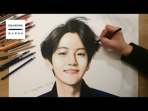 Speed Drawing EXO - Baek Hyun [Drawing Hands]