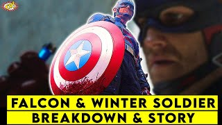 The Falcon & The Winter Soldier EP 4 BREAKDOWN & Story Explained || ComicVerse
