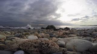 Relaxing Sounds of Waves - Rahatlatıcı deniz Sesi (GoPro)