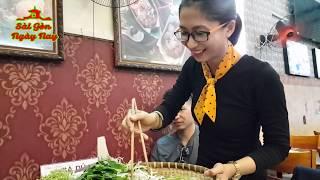 """Sài Gòn Mưa """"đưa 2 Mỹ nhân"""" đi ăn Lẩu Cua Nguyễn Tri Phương"""