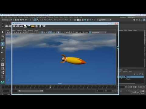 Maya 2017 Essential Training | Create motion blur in Arnold