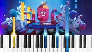 Not Evil - The Lego Movie 2: The Second Part - Piano Tutorial / Piano Cover