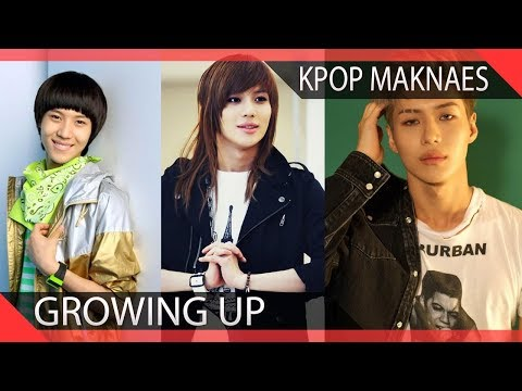 15 KPOP Maknaes Growing Up Before Your Eyes
