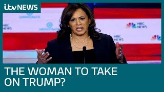 Kamala Harris gives a star performance and proves she can take on Trump   ITV News