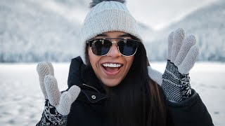 MEXICAN SEES SNOW FOR THE FIRST TIME!!